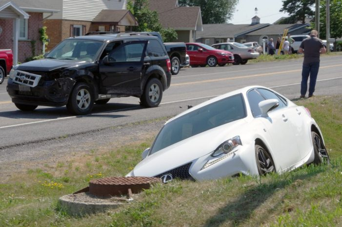 Another Collision on Hwy 2 Near the Blue Anchor in Summerstown 070818
