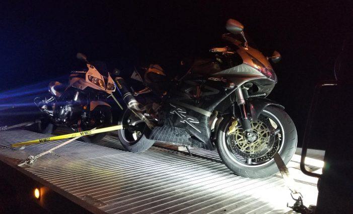 Ottawa #OPP Snag 7 Motorcycles STUNT DRIVING 091018