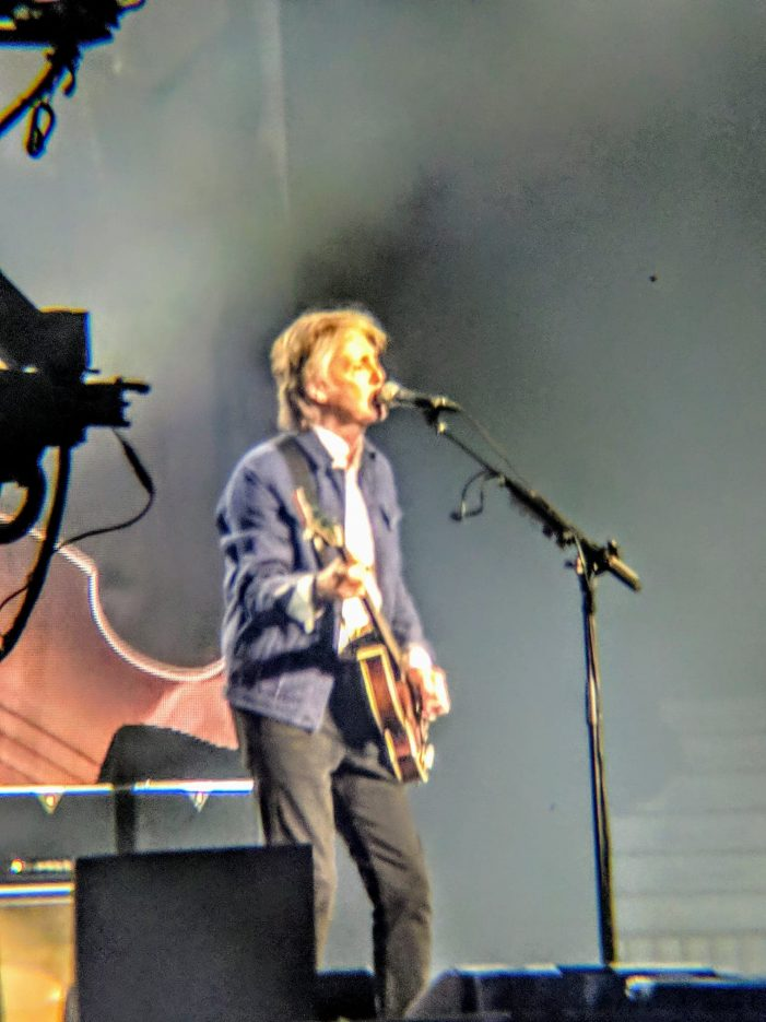 Former Beatle Paul McCartney Doesn't Disappoint Bell Centre in Montreal by Pierre Chicoine 092118