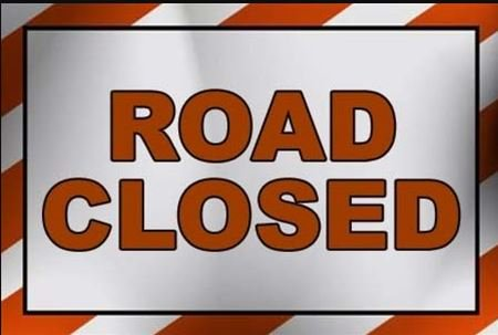 417 West CLOSED Due to Collision WILL UPDATE Monday JAN 21, 2019