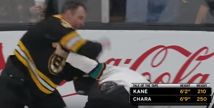 HOCKEY CRUNCH –  Zdeno Chara Puts a Whooping on NHL PIM Leader Evander Kane 022719