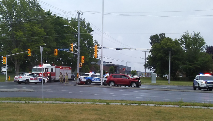 Photos from Police Collision in Cornwall Ontario 080719 #CPS