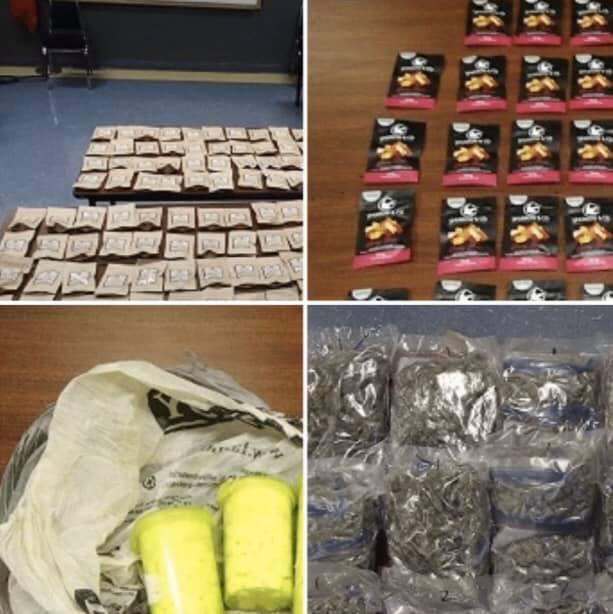 Akwesasne Police Score Edibles & Oxy's & 37lbs of Marijuana #AMPS 121019