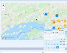 No Calls for Service on Cornwall Police Map Since April 23, 2020.  Why?  #CPS POLICE BLOTTER 051220