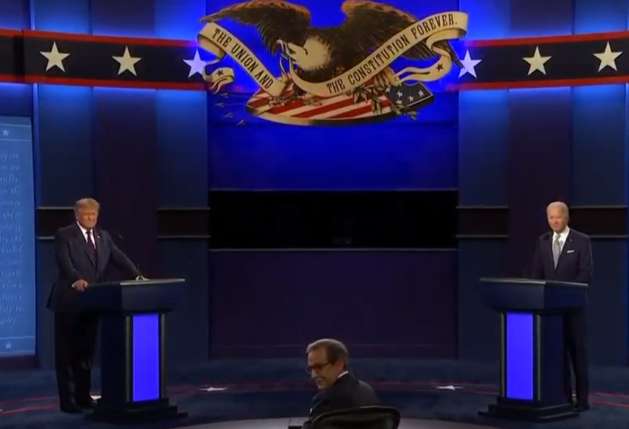Chris Wallace Loses Control of First US Presidential Debate.  By Jamie Gilcig
