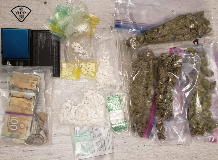 #OPP Report Meth & Weed Bust in Alfred Ontario