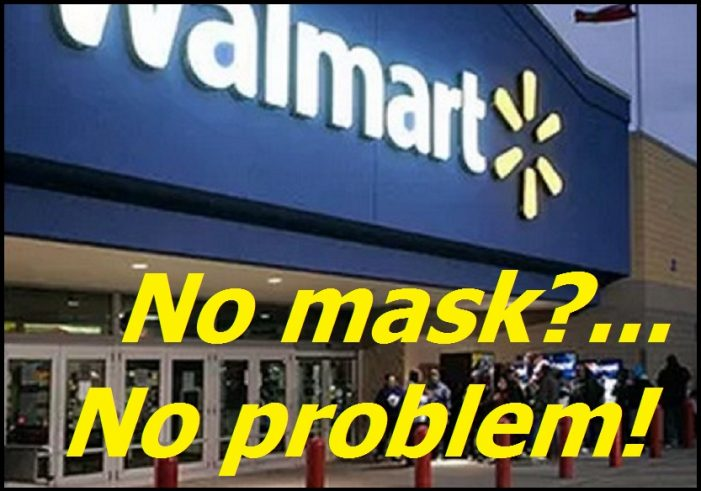 LTE :   No Mask?  No Problem for Walmart in Cornwall Ontario OPINION – Dec 20, 2020